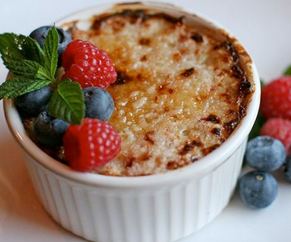 Oatmeal-Creme-Brulee low calorie desserts